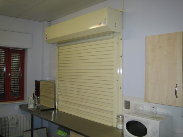 Fire Rated Security Shutter