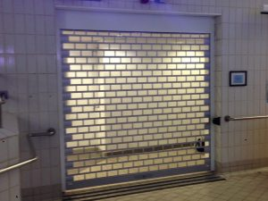 Security Roller Shutter With Vision