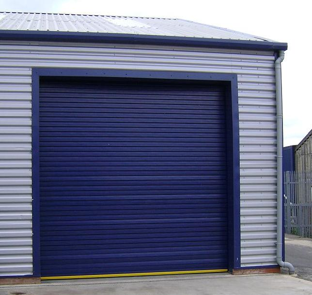 Hardened Steel Insulated Roller Shutter Door