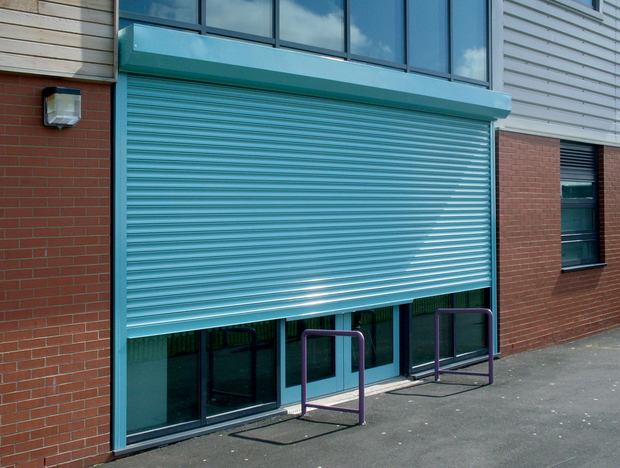 Galvanised Steel Roller Shutter Door