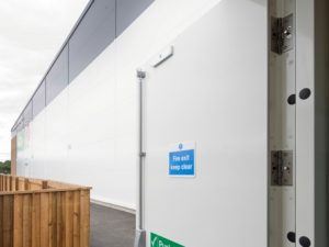 Fire Exit with Pushbar