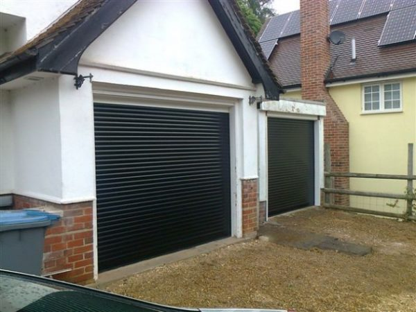 SeceuroGlide Compact Roller Garage Door