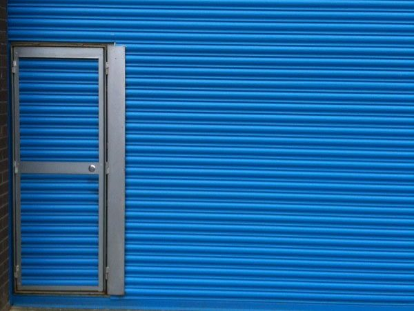 75 Roller Shutter with Wicket Door