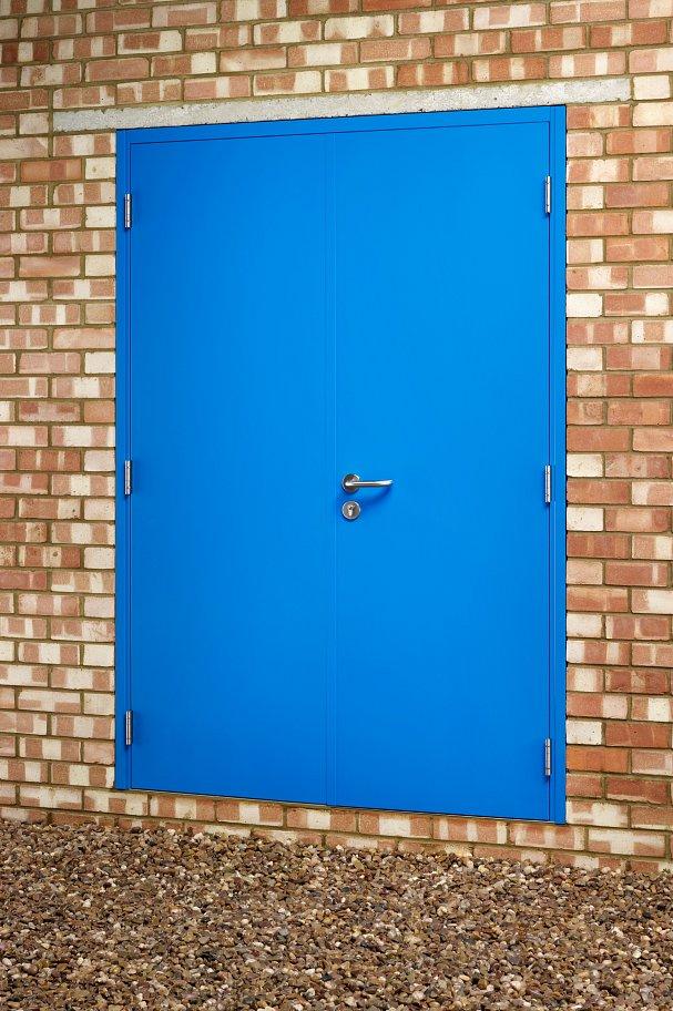 Double Steel Security Door 1500 Series
