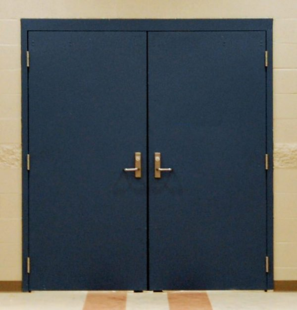 Steel Personnel Security Doors