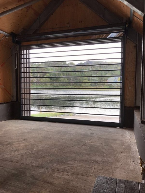 Sun Light and Security Boat House Roller Shutter