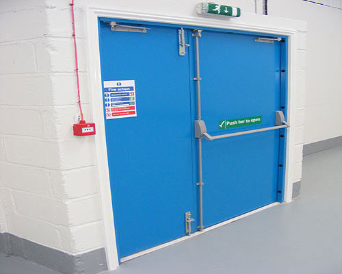 Steel Fire Rated Fire Exit Door