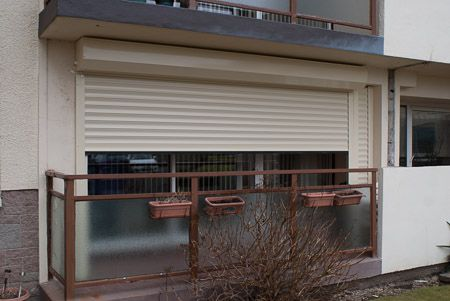 Insulated Home Security Roller Shutter