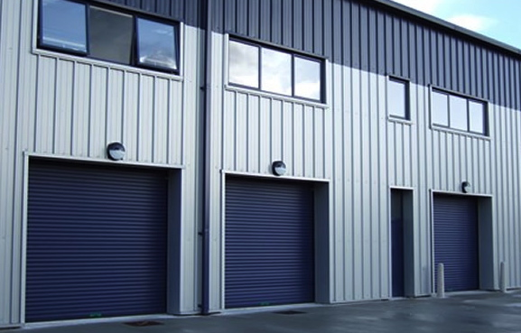 New SecurityTriphase 100 Industrial Insulated Roller Shutter Doors