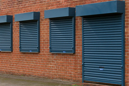 Security Roller Shutter Door