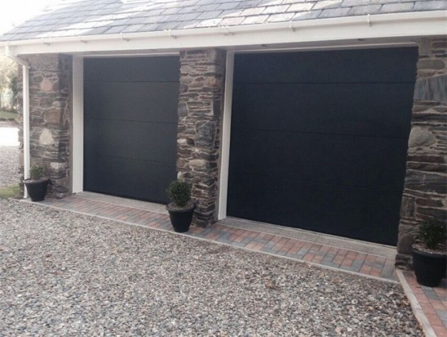 SeceuroGlide Electric Sectional Garage Door