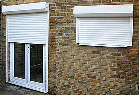 New Securityshield 150 Built in Security Roller Shutter