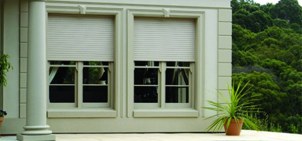 Built in Window Security Shutter