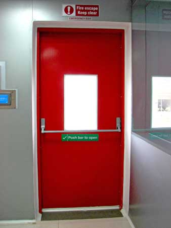 Single Fire Door