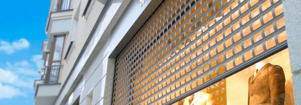 Shop Front New SecurityVision 900 Security Roller Shutter