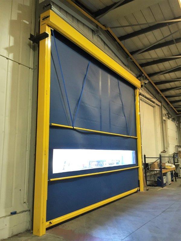 New SecurityRapid High Speed Roller Door