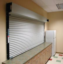 Counter Top Fire Rated Shutter